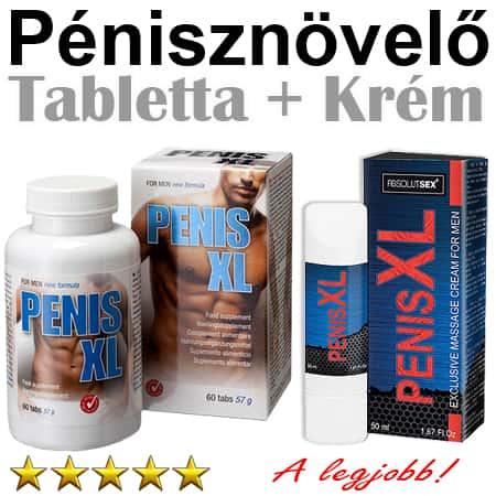 krémek a pénisz térfogatának növelésére)